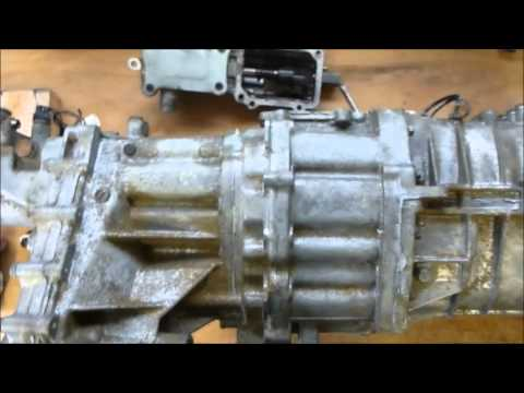 Manual gearbox transmission overhaul