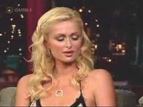 Paris Hilton and Letterman MEGAWEALTHY