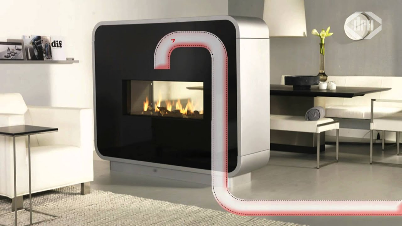 Install Your Dru Gas Fire Or Stove Wherever You Like Youtube