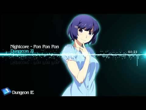 Nightcore - Pon Pon Pon[ver.english] video