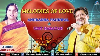 MELODIES OF LOVE : Udit Narayan & Anuradha Paudwal | Bollywood Romantic Songs | Best Hindi Songs