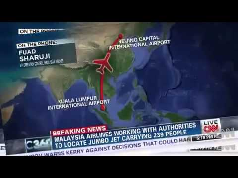 Malaysia Plane Crash Into Vietnam Sea   VIDEO   MH370 Malaysia Airlines Missing Crash