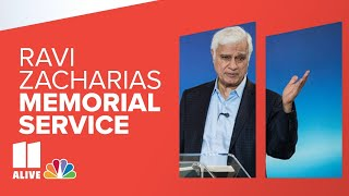 Memorial service for Ravi Zacharias; VP Pence in attendance | Live