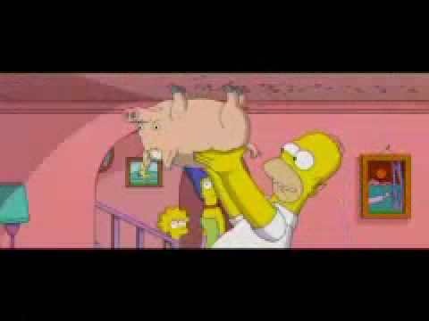 The Simpsons - Spider Pig