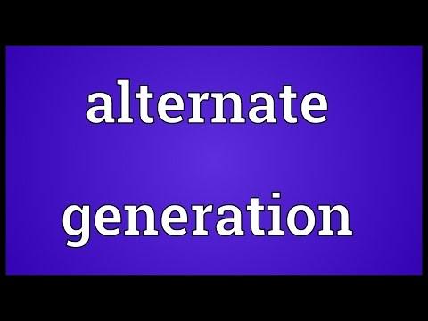 Header of Alternate Generation