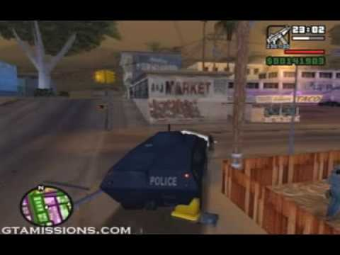 GTA: San Andreas - ps2 - 104 - End of the Line [1/3]