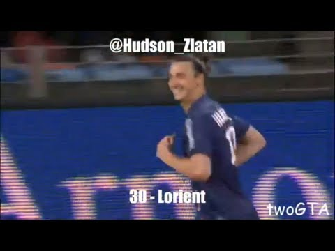 Zlatan Ibrahimovic ● All Goals (30) in PSG - Ligue 1 2012/13 [HD]