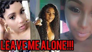 Ishawna EXPOSE her Stalker On IG Yanique Curvey Diva? | Shauna Chin VS Foota Hype!!