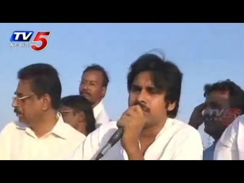 Pawan Kalyan Interacting with Cyclone Victims | Pawan Kalyan Speech : TV5 News