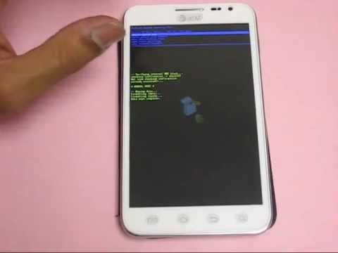 How to erase / reset Samsung Galaxy Note SGH-I717 personal data and phone settings (Alt. Method)