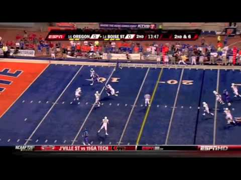 Oregon CB Walter Thurmond III Official Highlights vs. Boise State
