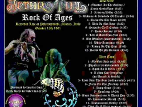 Jethro Tull - Gold-tipped Boots, Black Jacket And Tie