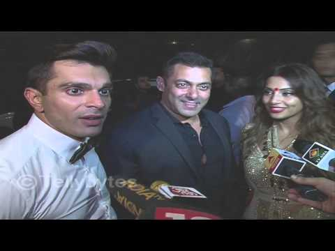 Salman khan at Karan Singh Grover and Bipasha Basu's wedding reception
