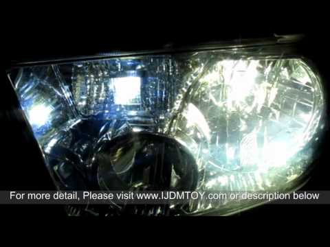 High Power 3157 Switchback LED Bulbs Test On 2010 Toyota Tundra