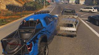 GTA 5 FORD F-150 RAPTOR EXTREME CRASH TESTING!