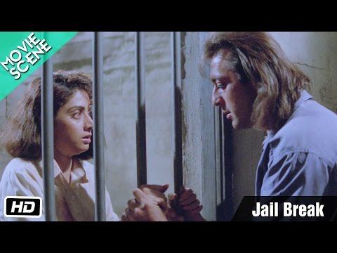 Jail Break - Movie Scene - Gumrah - Sanjay Dutt, Sridevi, Anupam Kher video