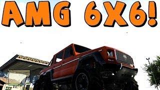 GTA 5 | Mercedes AMG 6x6 [Dubsta] Off Roading Test