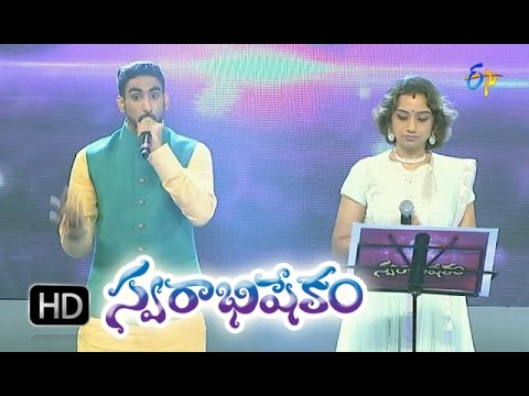 Padavoyi Bharateeyuda Song - Kalpana,Karunya Performance in ETV Swarabhishekam - 18th Oct 2015