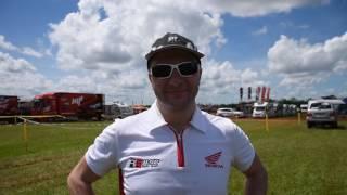 Dakar 2017, Asuncion: interviste piloti italiani, Simone Agazzi