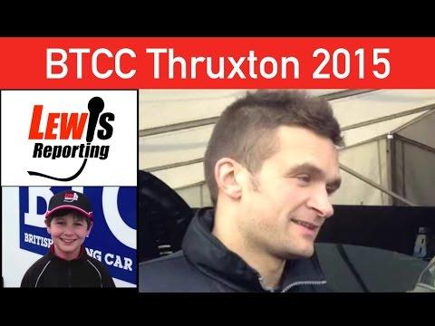 Colin Turkington - TeamBMR - BTCC Thruxton 2015