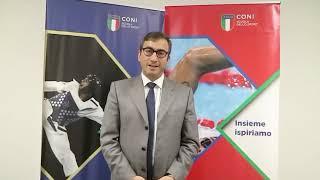 """Marco Peronaci al Seminario """"Sport e Innovazione"""""""