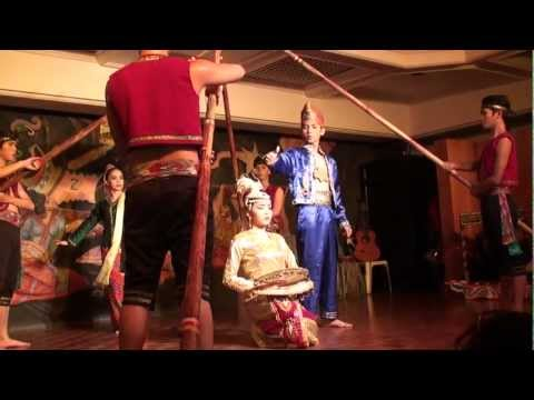 JH1HRJ video, Philippines Traditional Dance at a restaurant in Manila.