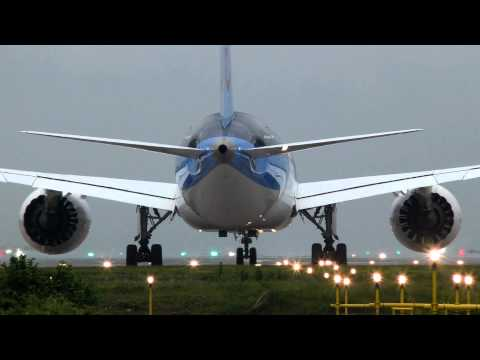 Thomson 787 Departure Manchester Airport