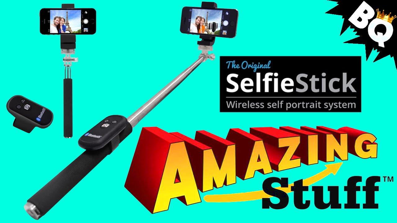 original selfie stick self portrait system review youtube. Black Bedroom Furniture Sets. Home Design Ideas