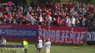 [RacoviaTV] RKS Raków Częstochowa 2:0 ZKS Stal Stalowa Wola - doping, bramki, wywiad