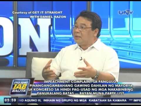 Impeachment vs PNoy, pinangangambahang gawing dahilan para di umusad ang house bills — Colmenares