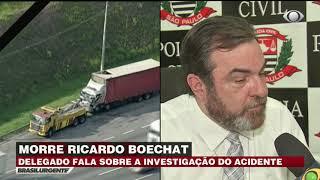Delegado fala sobre investigações do acidente de Boechat