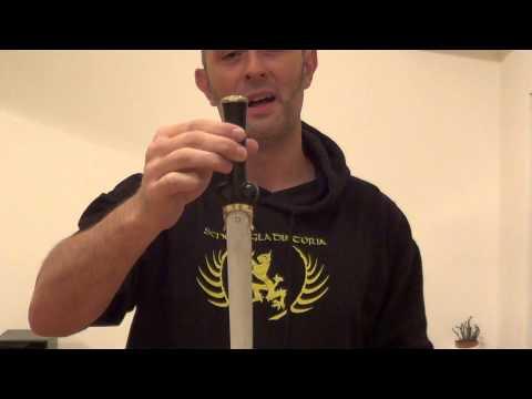 Three types of popular medieval dagger