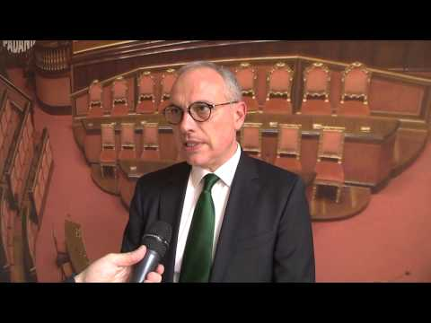 Quirinale - I delegati della Lega Nord votano Vittorio Feltri