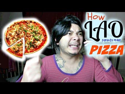 How Lao Parents Order Pizza