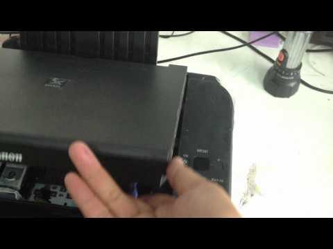 CANON MP287 service mode Alarm Error