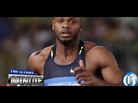 THE GLEANER MINUTE: Asafa arrives home... Trainer hits back... Coach questioned... Hanna blasts JFJ