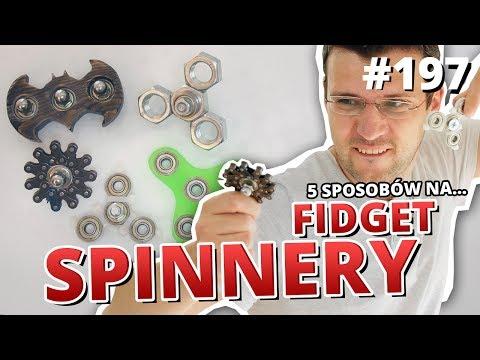 5 sposobów na... FIDGET SPINNER