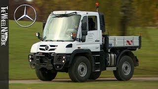 Mercedes-Benz Unimog U218 Solo/Special Platform – Energy   Arctic White