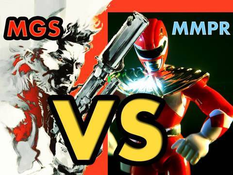 Metal Gear Solid vs Power Rangers - Adult Swim HD - Thunderzord Toy Commercial 2010