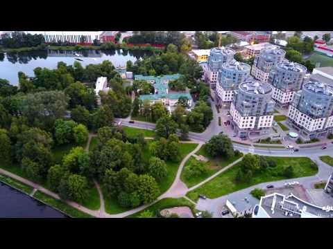 DJI Mavic Pro Санкт-Петербург Петроградская сторона угол Крестовского острова