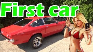 First car! Chevy vega walk around