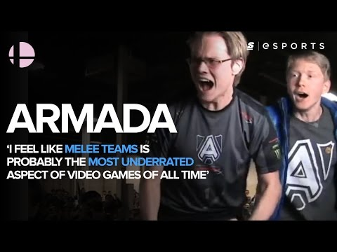 Armada: 'I feel like Melee teams is probably the most underrated aspect of video games of all time'