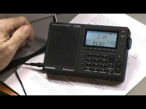 TRRS #0106 - Grundig G3 Shortwave Radio Reivew - Part 2 of 2 - Reception