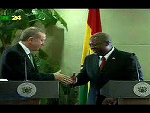 Ghana and Turkey sign agreements