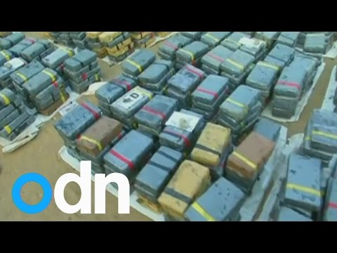 Peru police seize 3.3  tonnes of cocaine