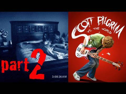 Paranormal Activity 2, Scott Pilgrim vs The World Movie Trailer, How To Train Your Dragon #1