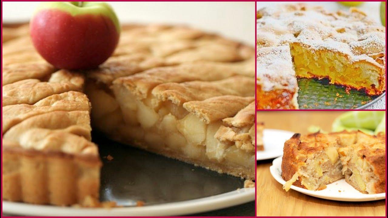 Рецепт шарлотки с яблоками на молоке простой и вкусный в духовке