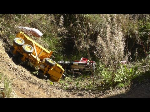 RC CRASH, RC HEAVY CONSTRUCTION ZONE, RC BAUSTELLE XXL, RC BIG MINE, RC ACCIDENT