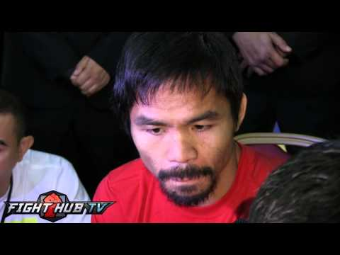 Manny Pacquiao I thought Canelo would fight like Manny Pacquiao against Mayweather