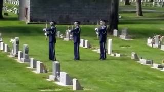 Memorial Day: Taps and Gun Salute